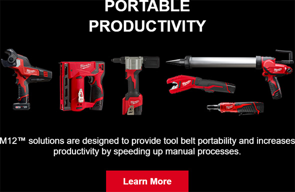 Milwaukee M12 Cordless Power Tools Philosophy