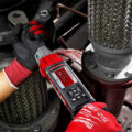 Milwaukee M12 Cordless Torque Wrench in Large Pipe Mechanical Connection Application