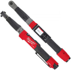 Milwaukee M12 Digital Torque Wrench Top and Side Views