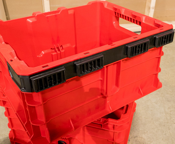 Milwaukee Packout Tool Crate Rear Mounting Clips