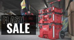 Milwaukee Storage Flash Sale at Acme Tools