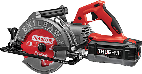 SkilSaw Cordless Worm Drive Saw with Diablo Blade