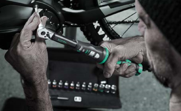 Wera 2019 Bicycle Socket Set Torque Wrench