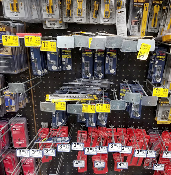 Bosch Screwdriver Bits at Lowes October 2019