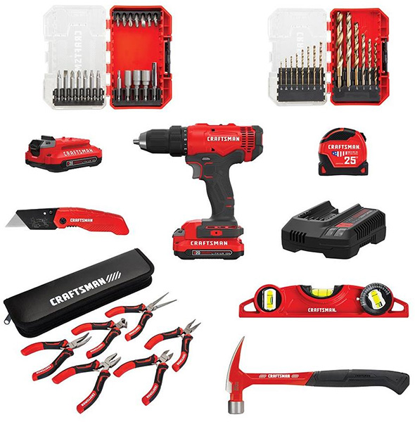 Craftsman Holiday 2019 Promo Homeowner Tool Set