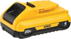 Dewalt DCB240 20V Max Compact 4Ah Cordless Power Tool Battery