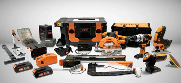 Doer Cordless Power Tool Workshop Kickstarter