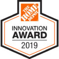 Home Depot Innovation Award Badge