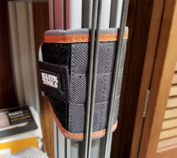 Klein Magnetic Wrist Strap on Workbench Post