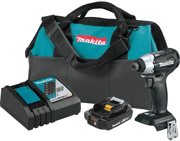 Makita Sub-Compact Brushless Impact Driver Kit XDT15R1B