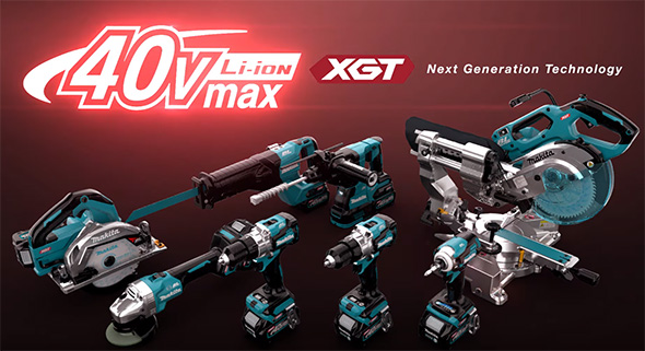 Makita XGT 40V Max Cordless Power Tool System
