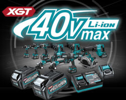 Makita XGT 40V Max Cordless Power Tools Hero