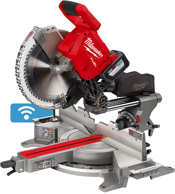 New Milwaukee M18 Fuel 12 Brushless Miter Saw With One Key