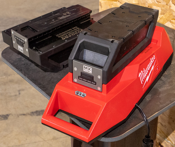 Milwaukee MX Fuel Cordless Power Tools Batteries and Charger