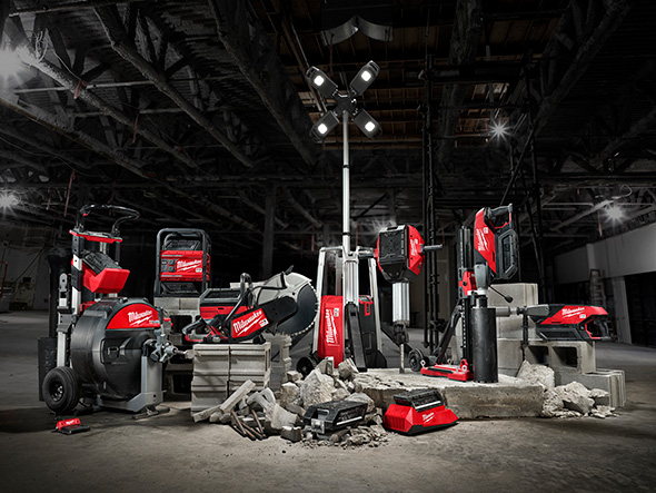 Milwaukee MX Fuel Cordless Power Tools Family Photo