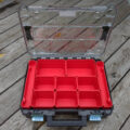 New Craftsman Versastak clear-lidded small parts organizer