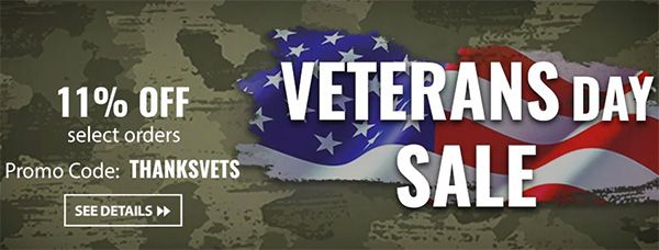 Acme Tools Veterans Day 2019 Coupon