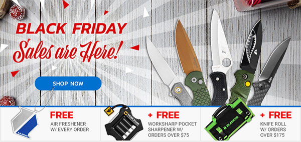BladeHQ Black Friday 2019 Knife Deals