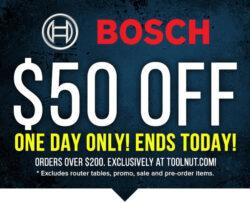 Bosch Pre-Black Friday Tool Deal 2019
