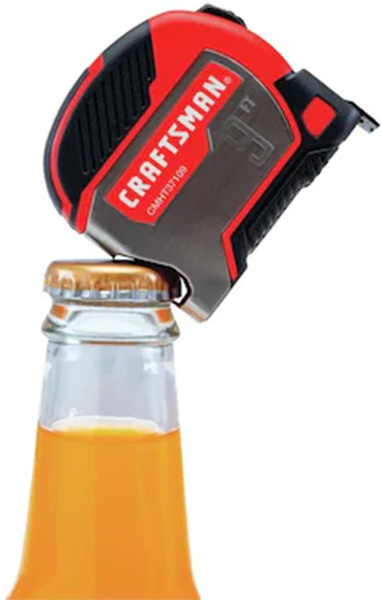 Craftsman Pocket Tape Measure Bottle Opener