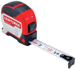 Craftsman Pocket Tape Measure Extended