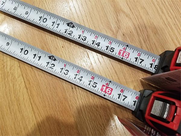 Craftsman Tape Measure 2018 vs 2019 Comparison