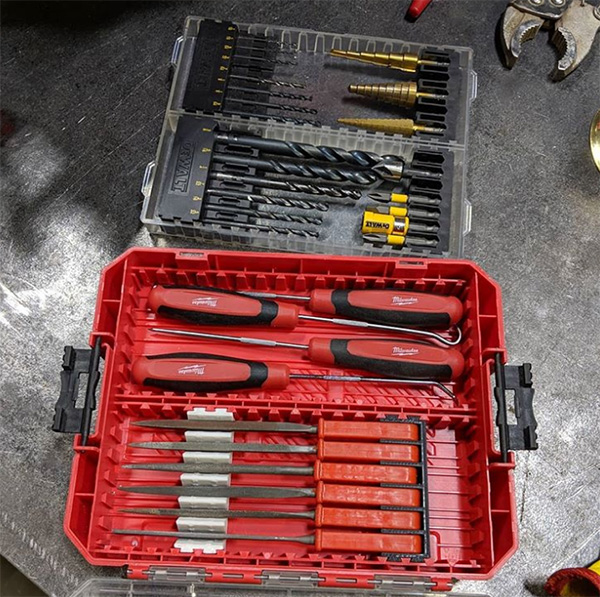 Craftsman ToughSystem Plus Power Tool Accessory Storage Case Medium
