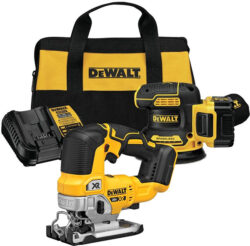 Dewalt 20V Max Brushless Jig Saw and Sander Combo Kit