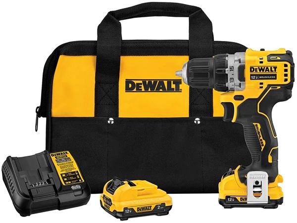 Dewalt DCD701F2 12V Max Compact Cordless Drill Kit