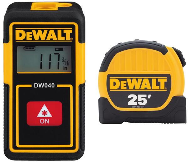 Dewalt DWHT43239GC Tape Measure and Laser Distance Measuring Tool Bundle
