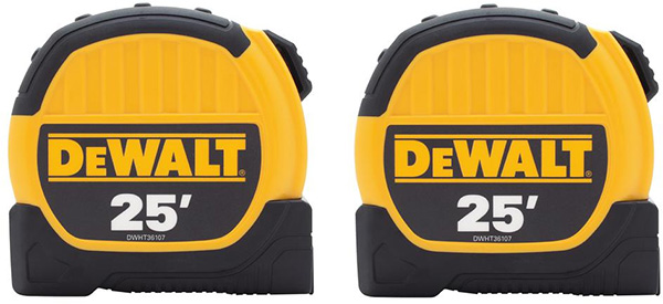 Dewalt Tape Measure 2-Pack DWHT79307GC1 Holiday 2019 Deal