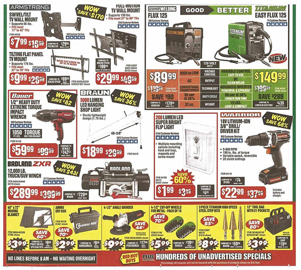 Harbor Freight Black Friday 2019 Tool Deals Page 2