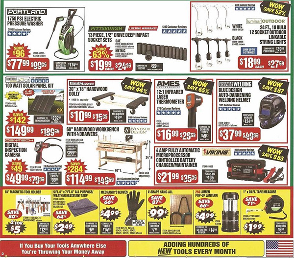 Harbor Freight Black Friday 2019 Tool Deals Page 4