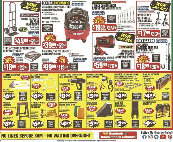 Harbor Freight Black Friday 2019 Tool Deals Page 8