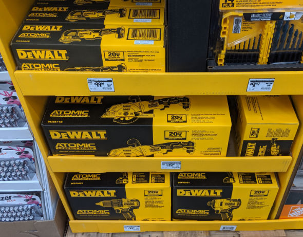 Home Depot 2019 Pre Black Friday Special Buys Dewalt Atomic