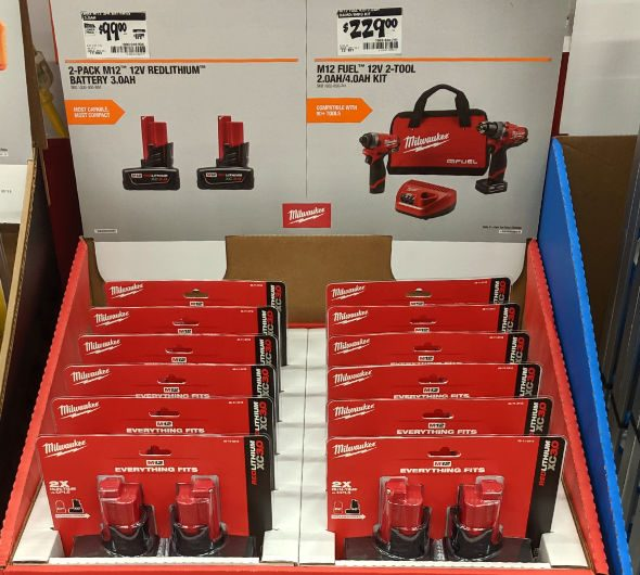 Home Depot 2019 Pre Black Friday Special Buys M12 Milwaukee Batteries