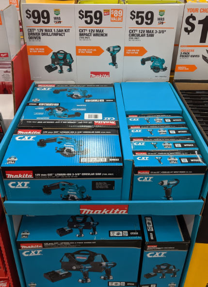 Home Depot 2019 Pre Black Friday Special Buys Makita 12V Tools
