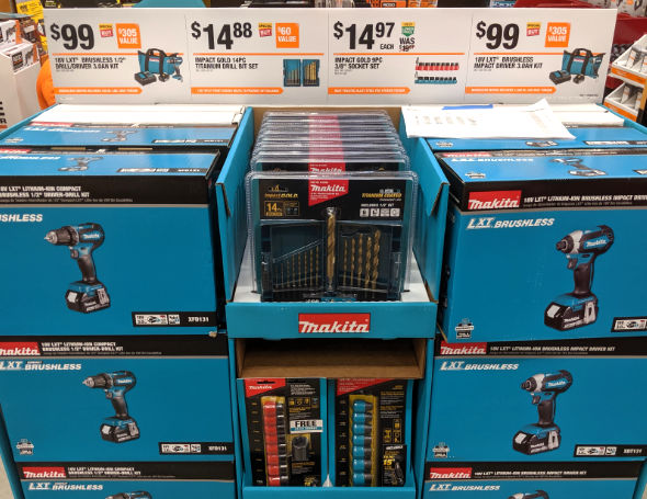 Home Depot 2019 Pre Black Friday Special Buys Makita 20V Tools