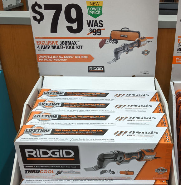 Home Depot 2019 Pre Black Friday Special Buys Ridgid JobMax