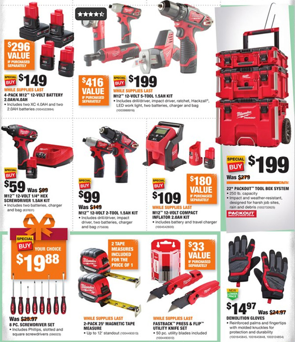 Home Depot Black Friday 2019 Official Tool Deals Page 4