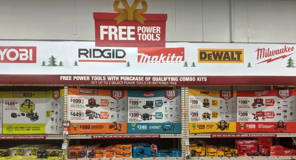 Home Depot Free Power Tools 2019 Promotion Hero