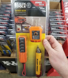 Home Depot Klein Tools Black Friday 2019 Special Buys Display Electrical Testing Kit
