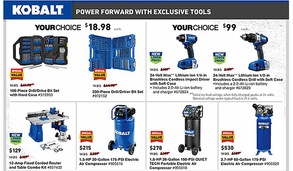 Lowes Black Friday 2019 Tool Deals Page 10