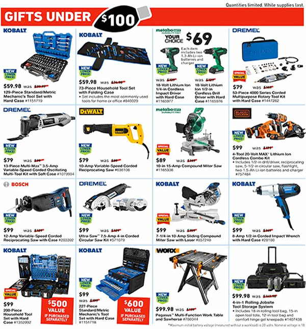 Lowes Black Friday 2019 Tool Deals Page 15