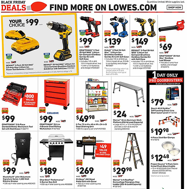 Lowes Black Friday 2019 Tool Deals Page 19