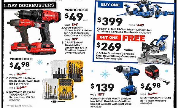 Lowes Black Friday 2019 Tool Deals Page 2