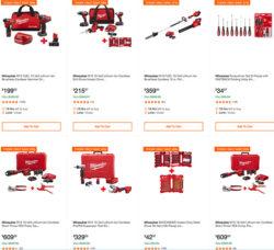 MIlwaukee Cordless Power Tools Home Depot Black Friday 2019 Deals Hero