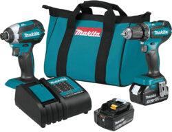Makita XT281S 18V Brushless Drill and Impact Driver Combo Kit