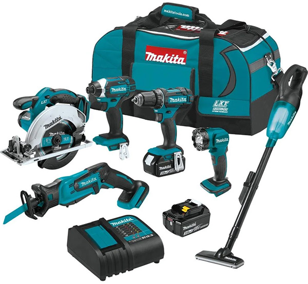 Makita XT614SX1 18V Cordless Power Tool Combo Kit