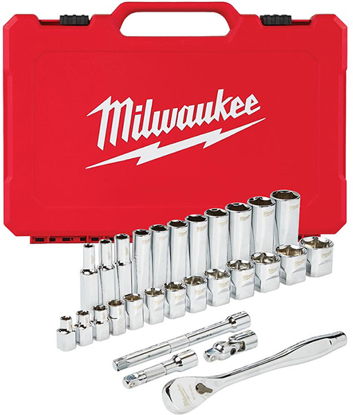 Milwaukee 48-22-9408 Mechanics Tool Set